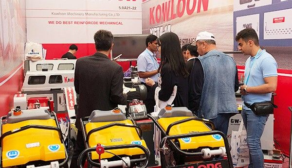 Warmly celebrate the successful conclusion of the Kowloon Machinery at 123rd Canton fair